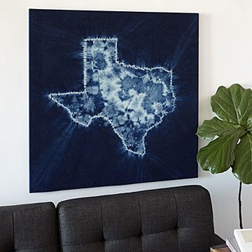 Custom Shibori State Art