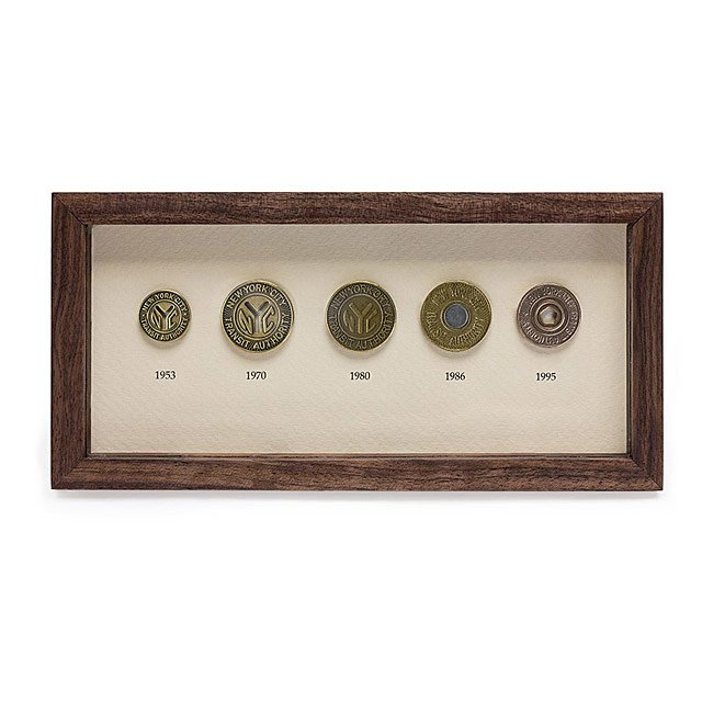 NYC Subway Token Collector's Set