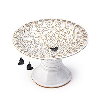 Lace Pedestal Jewelry Holder