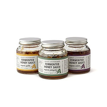 Savory Fermented Honey Sauce Trio