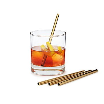 Stainless Steel Cocktail Straws