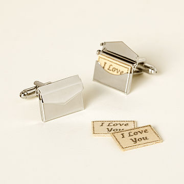 Custom Love Letter Cufflinks