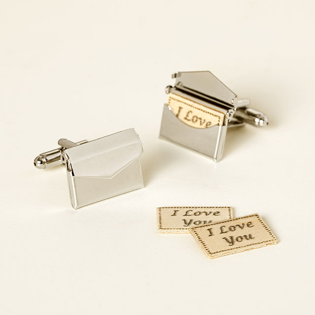 Custom-love-letter-cufflinks-gift-ideas-for-him-KMich-Weddings-and-Events-Philadelphia