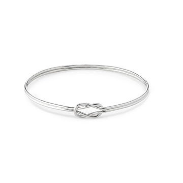 Forget Me Knot Bangle