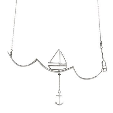 Escape and Sail Away Necklace