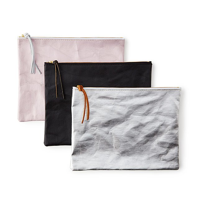 Sustainably Chic Paper Pouch