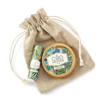 Restorative Hemp Balm Set In Pouch