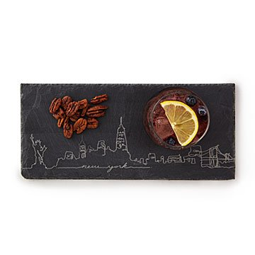 City Skyline Slate Cheese Board