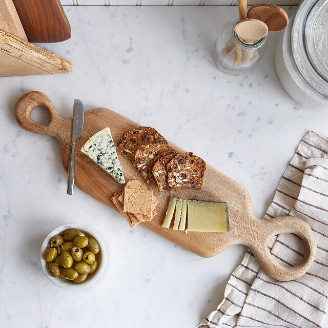 Organic Double-Handled Cheese Board