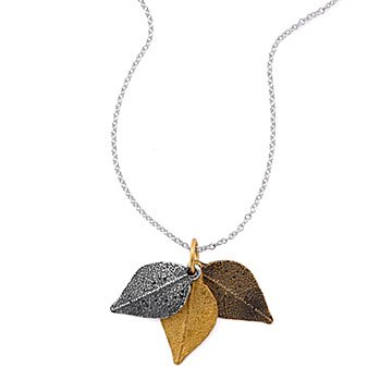 Turn Over A New Leaf Necklace