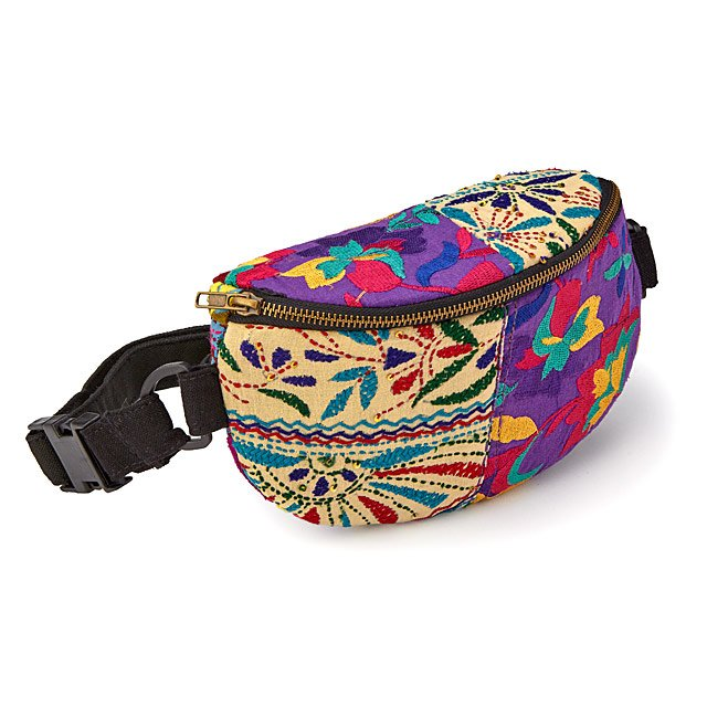 Upcycled Textiles Waist Pack