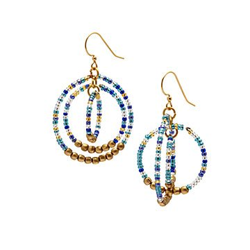 Nepal Glass Bead Earrings