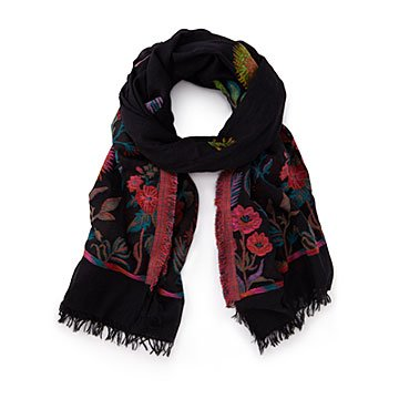 Psychedelic Floral Scarf