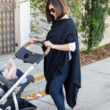 Organic Cotton Travel Poncho