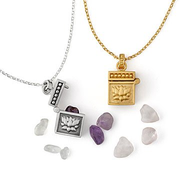 Crystal Intention Carry Box Necklaces