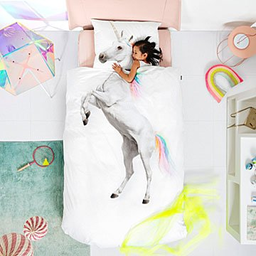 Unicorn Duvet and Pillowcase Set