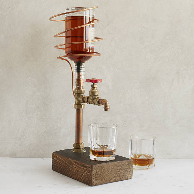 Industrial Brass & Copper Drink Dispenser