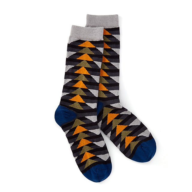 Flying Geese Men's Organic Cotton Sock