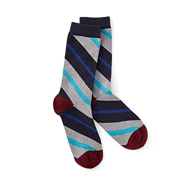 Circle Stripe Men's Organic Cotton Sock