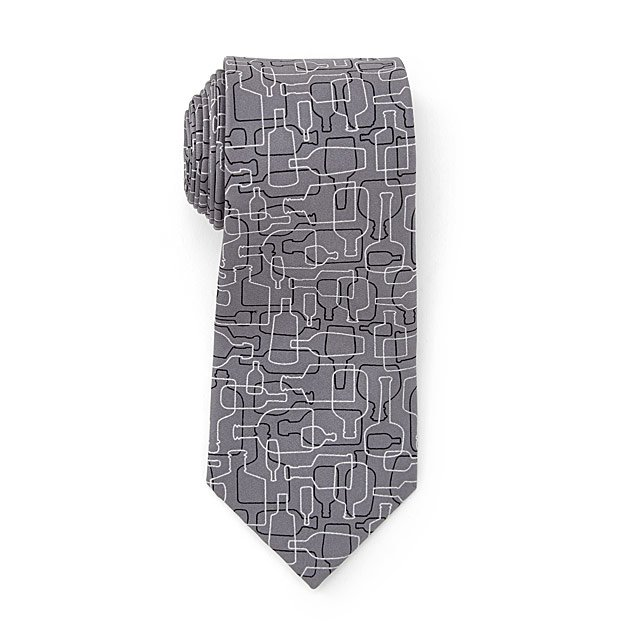 2581a046d796 Bourbon Days Necktie Gray and Black | Whiskey, Fashion | UncommonGoods