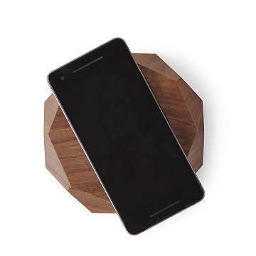 Walnut Wireless Charger