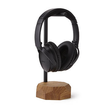 Oak Headphone Stand