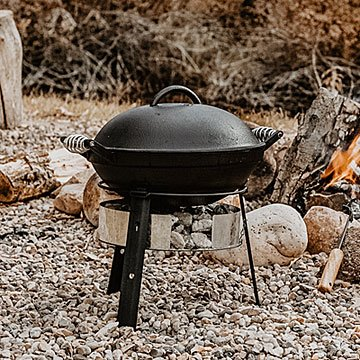 All-in-One Cast Iron Grill