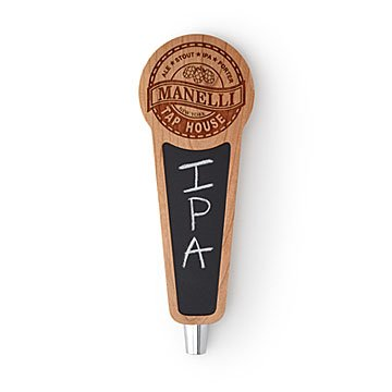 Custom Chalkboard Beer Taps