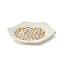 Gold Luster Ceramic Dishes Set of 3 2 thumbnail