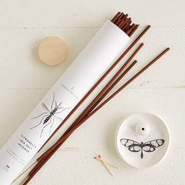 Extra Large Citronella Incense & Holder