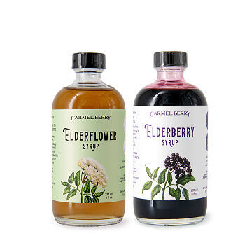 Elderberry & Elderflower Duo