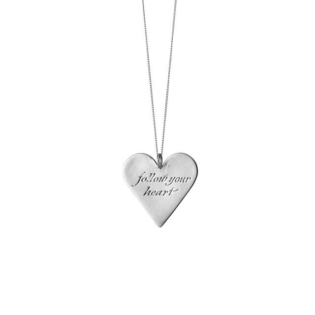 Follow Your Heart Pendant