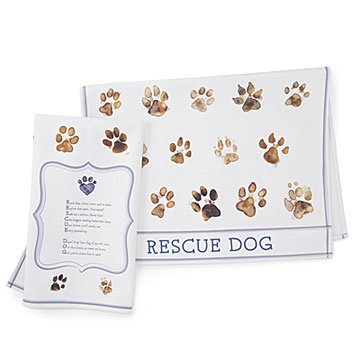 Rescue Pet Dish Towel