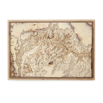 National Park Topography Puzzle
