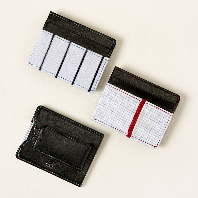 4958a8e6c14090 MLB Uniform Money Clip Wallet | Baseball Gifts, Sports | UncommonGoods