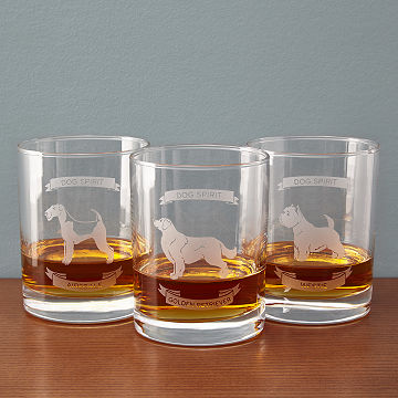 Dog Spirit Single Glasses