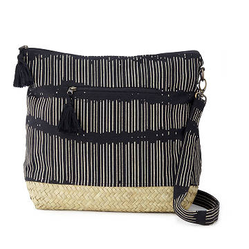Seagrass Crossbody Black