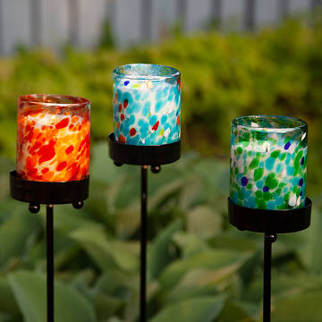 Citronella Candle Garden Stakes