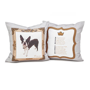 Pedigree Poem Custom Photo Pillows