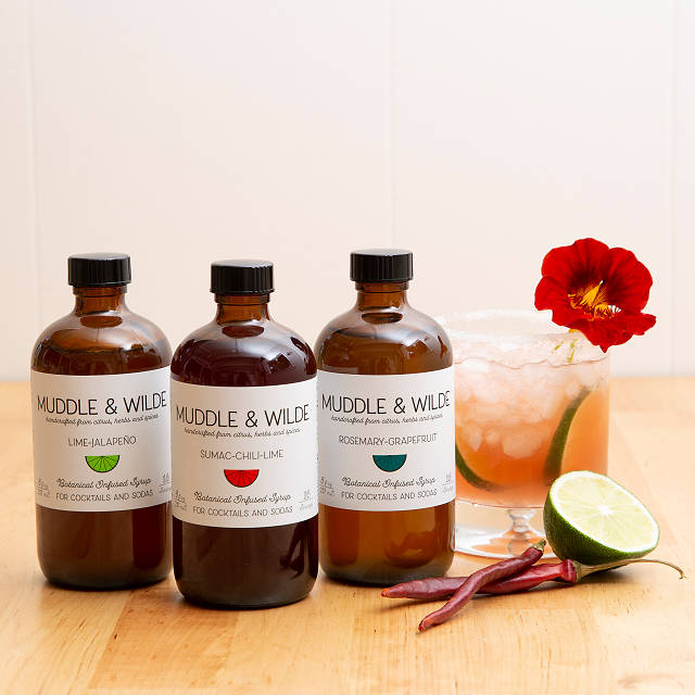 Botanical Infused Simple Syrups