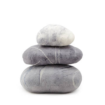 Serenity Stone Floor Pillows