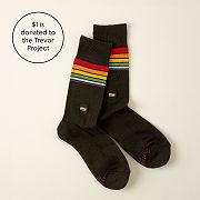 LGBTQ Trevor Project Socks