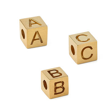 Alphabet Charms Gold