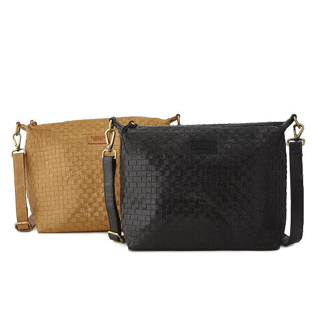 Cross Weave 100% Paper Shoulder Bag