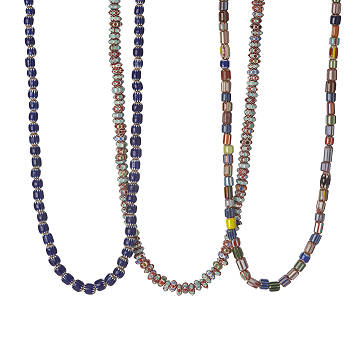 African Glass Bead Necklaces