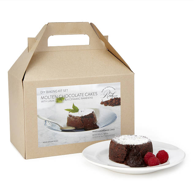 Molten Chocolate Cake Kit