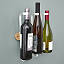 Adjustable Wine Bottle and Glass Rack 2 thumbnail