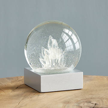 Crystal Snow Globe