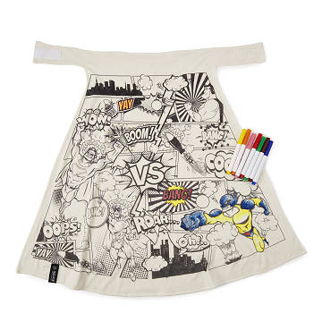 Color Your Own Super Hero Cape
