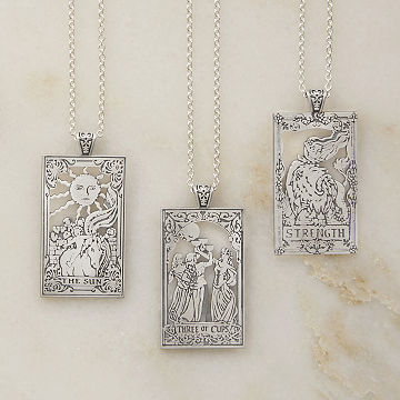 Tarot Card Necklaces